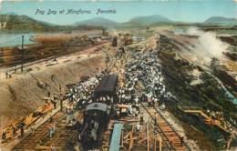 Panama - Pay Day At Miraflores In 1913 - Railway Train - Panama