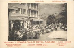 Suisse - Adelboden - Nevada Palace Hotel - Richert Freres Prop. - Thé-Concert - Animé - BE Bern