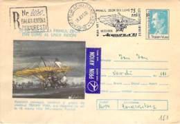 Traian Vuia Cod 0075/81 Mit SST - Maximum Cards & Covers