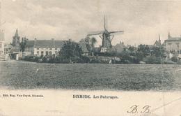 532/27 - Carte-Vue Moulin TP Armoiries DIXMUDE 1902 Vers LUCERNE Suisse - Taxée 20 C LUZERN - Lettres