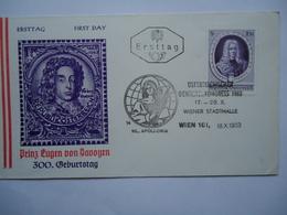 AUSTRIA FDC 1963 - FDC