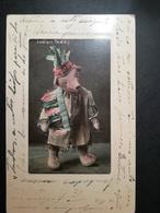 "Postcard ""Indian Teddy"" - Ed. Artchrom - Teddy Bear From Roosevelt - Native Americans"