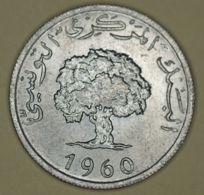 Tunisia - 5 Millim - 1960 - BU - Tunisia