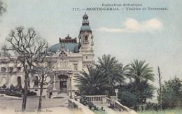 MONTE-CARLO - Théâtre Et Terrasses - Opernhaus & Theater