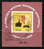 POLAND  Scott # 1165 VF USED SOUVENIR SHEET  LG-902 - Blocks & Sheetlets & Panes