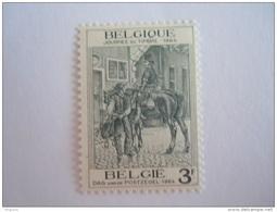België Belgique 1964  Dag Van De Postzegel Journée Du Timbre Postilon Postijon COB Yv 1284 MNH ** - Belgien