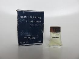 Bleu Marine - Pierre Cardin - Eau De Toilette - 5 ML - ANCIEN - Miniatures Men's Fragrances (in Box)
