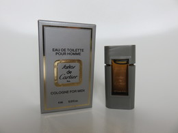 Santos - Cartier - Eau De Toilette Pour Homme - 4 ML - Miniatures Men's Fragrances (in Box)