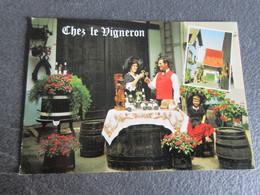 CPSM - Chez Le Vigneron - Propriété Viticole Henri Zinck à Eguisheim - 1974 - France