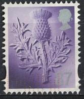Royaume Uni 2012 Oblitéré Used Thistle Chardon Écossais 87 Penny - Emissions Régionales
