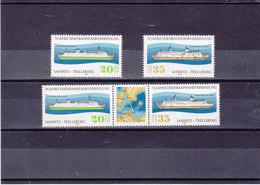 RDA 1979 BATEAUX Yvert 2094-2095 + 2095A NEUF** MNH - [6] République Démocratique