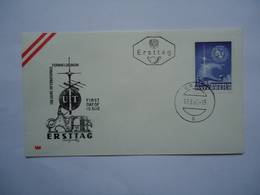 AUSTRIA FDC 1965 UIT - Organizations