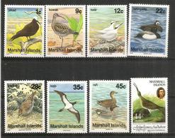 Oiseaux De Mer Aux ILES MARSHALL   8 Timbres Neufs ** - Marshall