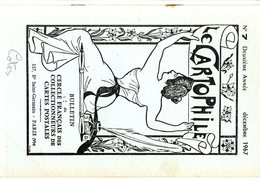 LE CARTOPHILE  DEC 1967  N° 7   -  16 PAGES EXPOSITION DE PRESTIGE LE SURREALISME LES CRIS DE PARIS PETITS METIE   Etc . - French