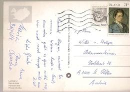 Iceland & Marcofilia, Iceland, Selasetur Íslands, Harbour Seal, Reykjavík,Sankt Pölten Austria 1991 (3211) - 1944-... Republique