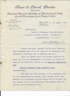 ALTE RECHNUNG - KAUER & LÄTZSCH, DRESDEN 1912 - Germany