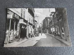 CPSM Animée - SENS (89) - La Grande Rue Avec Commerces Visibles - 1961 - Sens