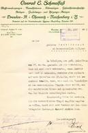 ALTE RECHNUNG - CONRAD E. SCHMALFUSS, DRESDEN 1915 - Germany
