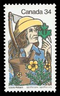 Canada (Scott No.1060 - Louis Hebert) [**] - 1952-.... Règne D'Elizabeth II