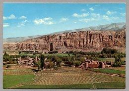 Afghanistan 1975 - General View Of Big Buddah In Bamiyan - Afghanistan