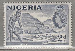 NIGERIA 1953 Mi 75 SG 72c MNH (**) #23421 - Nigeria (...-1960)