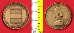B-25550 Belgium 1982 – 100 Meuleneers / Kruishoutem. Medal Token - Other