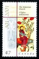 Canada (Scott No.1905 - Eglise Arménienne / Armenian Church) [**] - 1952-.... Règne D'Elizabeth II