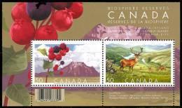 Canada (Scott No.2106b - Protection De La Biosphère / Biosphere Reserves) [**] Feuillet / SS - 1952-.... Règne D'Elizabeth II