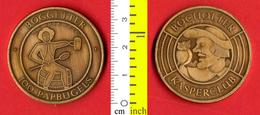 B-25553 Belgium 1983 – 100 Papbugels / Bocholter Kasperclub. Medal Token - Other