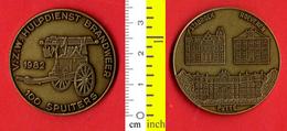 B-25554 Belgium 1982 – 100 Spuiters / Stabroek Hoevenen Putte. Medal Token - Other
