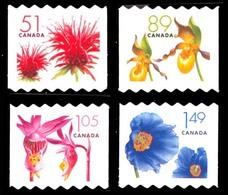 Canada (Scott No.2128-31 - Timbres Courants - Fleurs / Flower Definitives) [**] - 1952-.... Règne D'Elizabeth II