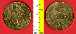 B-25556 Belgium 1982 – 50 Dammenaar / Damme. Medal Token - Other
