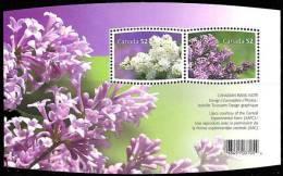 Canada (Scott No.2206 - Lilac) [**] BF / SS - Blocs-feuillets