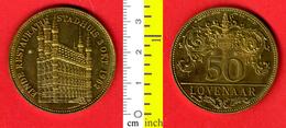 B-25559 Belgium 1982. 50 Lovenaar. Einde Restauratie Stadhuis. Medal-token - Other