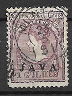 """1908 USED Nederlands Indië """"java"""" (stempel) - Indie Olandesi"""