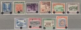 NIUE 1967 Mi 87-96 SG 125-134 MVLH (*) #23432 - Niue