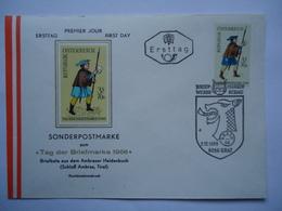 AUSTRIA FDC 1966 SOLDIER - FDC