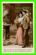 COUPLES - LES COEURS DOIVENT S'UNIR DEUX PAR DEUX SUR LA TERRE ... - ÉCRITE -  WALERY, PARIS - Couples