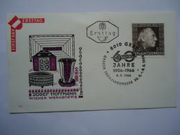AUSTRIA FDC 1966 - FDC