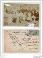 3743 AK/PC/CARTE PHOTO/N°462 75 PARIS GROUPE A IDENTIFIER/1906 - Cartoline