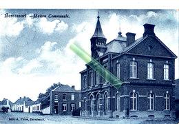 BERNISSART - Maison Communale - Carte Leutée - Edit: A. Piron, Bernissart - Bernissart