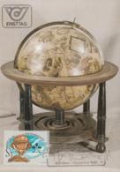 Austria 1982 Maxicard Scott #1220 Globe Geodesists' Day - Cartes-Maximum (CM)