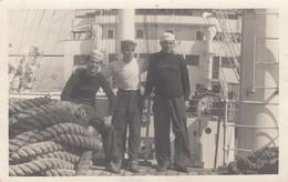 NAVE FLORENCIA /  Marinai In Posa _ 1950 - Commercio