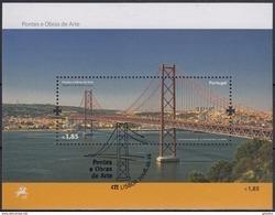 PORTUGAL 2008 HB-282 USADA (1º DIA) - Blocks & Sheetlets
