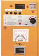 Aland 1984 Maxicard 1.10m Vending Machine Stamp - Aland