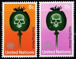 Nations Unies NY / United Nations NY (Scott 236-37)+ [**] - New York -  VN Hauptquartier