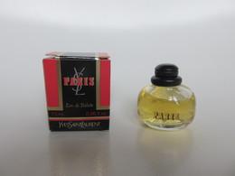 Yves Saint Laurent - Paris - Eau De Toilette - 7.5 ML - Miniatures Womens' Fragrances (in Box)