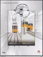 PORTUGAL 2010 HB-305 USADA (1º DIA) - Blocks & Sheetlets