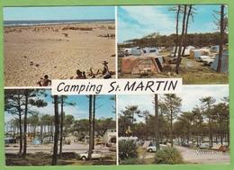 CPSM Camping Saint Martin MOLIETS Multivue Tente Citroen Plage 40 Landes - Altri Comuni