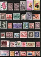 BRITISH COMMONWEALTH---Collection Of USED DL-648 - Stamps